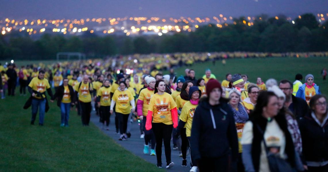 Darkness Into Light 2018, marchons ensemble!
